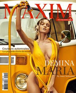 DEMINA MARIA COVER GIRL MAXIM FRANCE BELGIQUE
