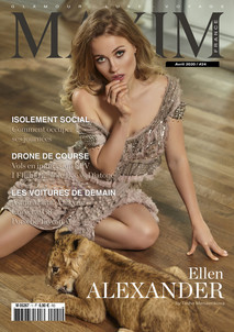ALEXANDER ELLEN COVER GIRL MAXIM FRANCE BELGIQUE