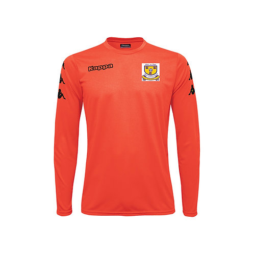 GOALKEEPERS FLUO RED JERSEY