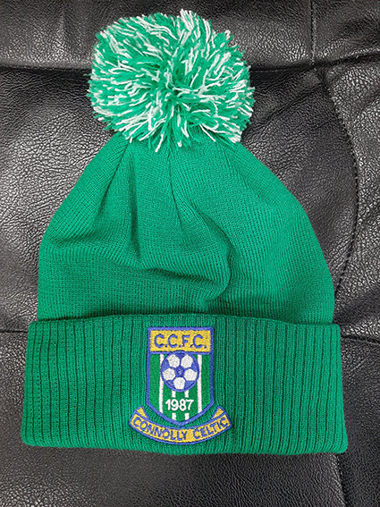 CONNOLLY CELTIC Green Bobble Hat