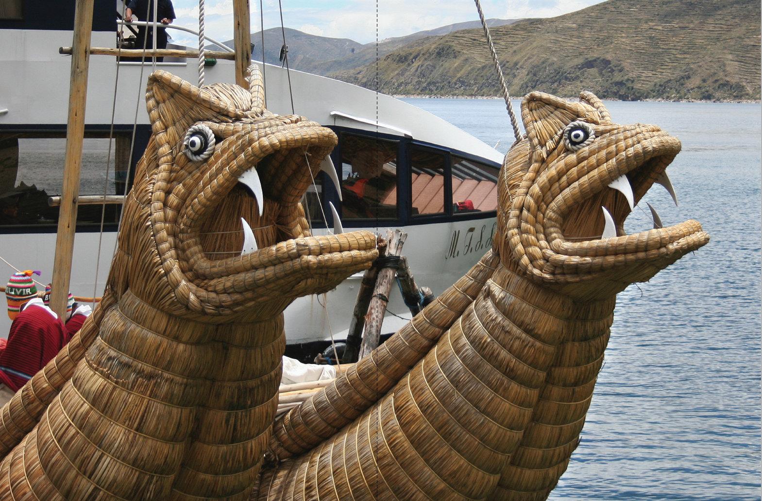 Peru Bolivia Titicaca järvi