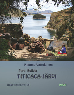 Peru Bolivia Titicaca järvi kirja