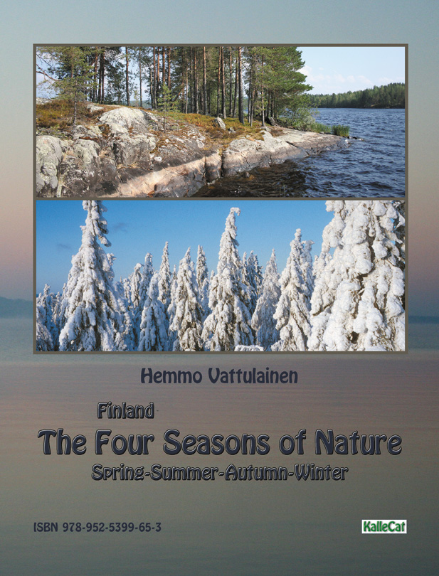 Nature photo book from Finland