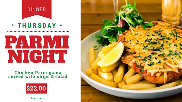 Best Chicken Parmi Perth