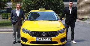 BiTaksi ve Fiat işbirliğinde kabinli taksi