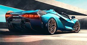 Lamborghini Sian Roadster tanıtıldı
