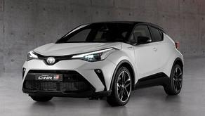 Toyota C-HR GR Sport 2021 yüzünü gösterdi