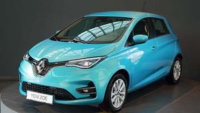 Yeni Renault Zoe 2021 satışa sunuldu