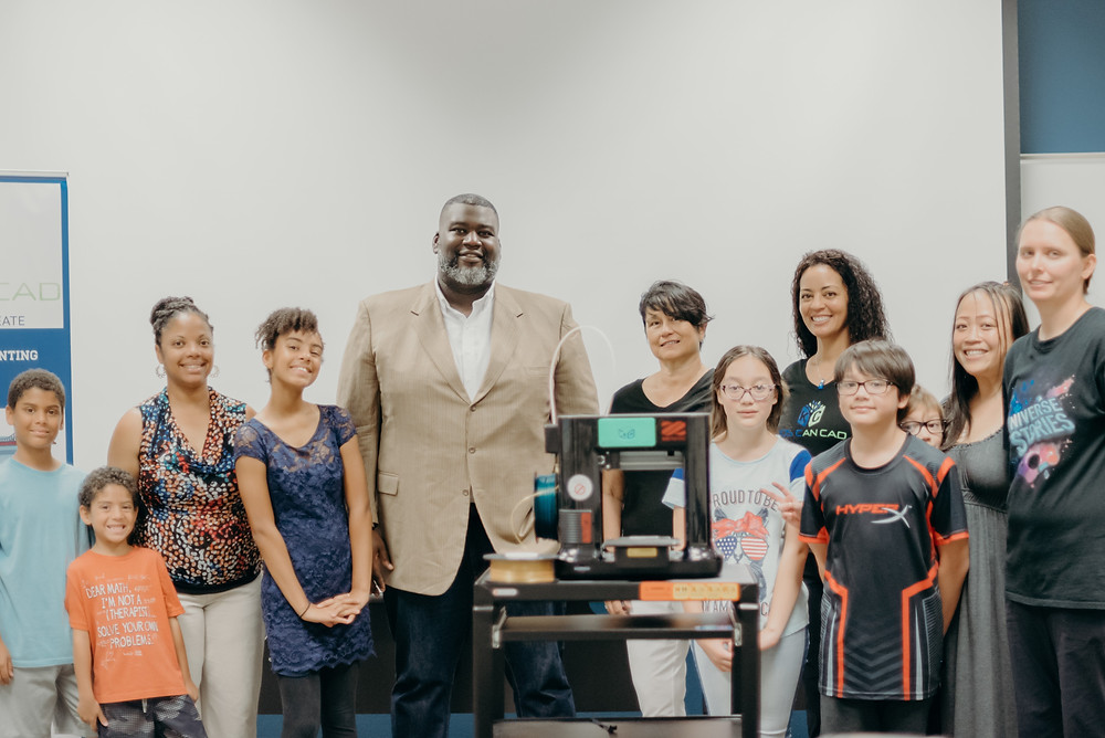 3d Printer donation at Georgetown, TX, Public Library