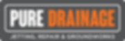 Pure Drainage Logo Drains Blocked Unblock Jetting Repair Groundworks Local Drain Services Southampton Repair Replacement