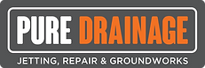 Pure Drainage Logo Drains Blocked Unblock Jetting Repair Groundworks Local Drain Services Southampton Drain Repair Replacement