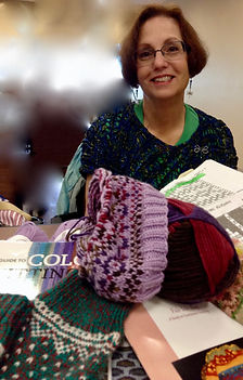 knitting guild meeting colorwork fair isle
