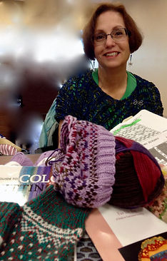 knitting guild meeting colorwork fair isle
