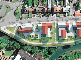 """Concours gagné!""""La Batellerie""""! Construction de 67 logements collectifs à Merville(59)"""