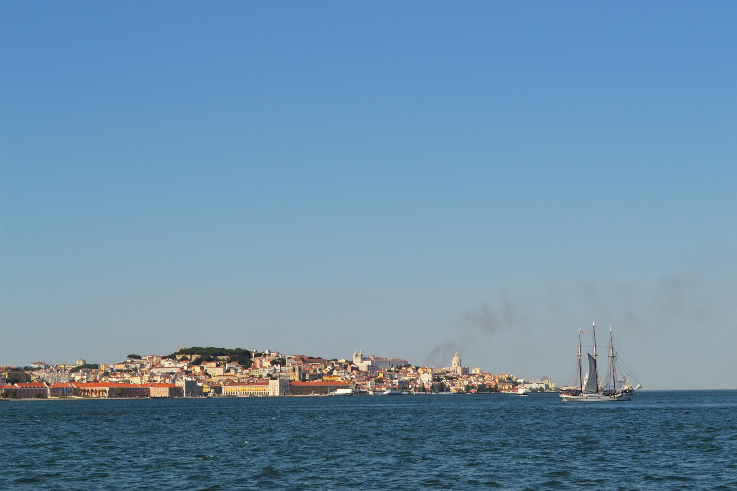Baie du Tage à Lisbonne