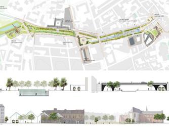 Lauréat du prix spécial du jury du concours d'idées pour le réaménagement de l'avenue du Peu