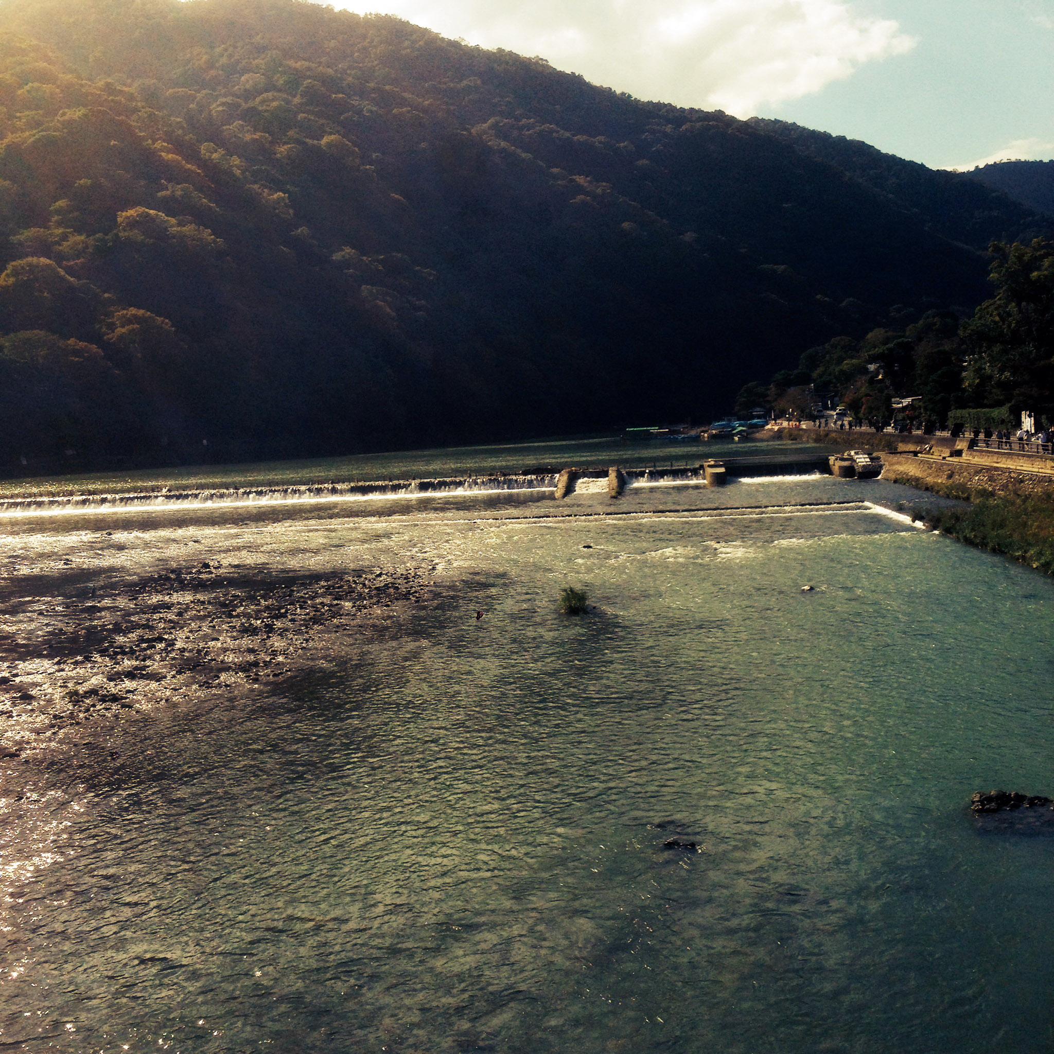 rivière Kamo-gawa / Kyoto