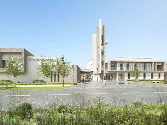 Concours gagné pour la construction de la future mairie, salle culturelle et ateliers municipaux de