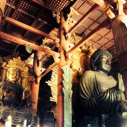 Bouddhas du Todai-ji / Nara