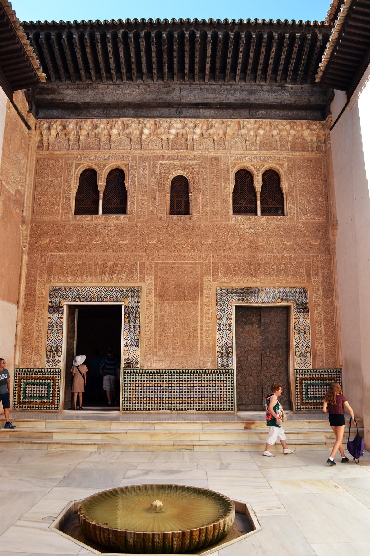 Le Palais des Nasride / Alhambra / Grenade
