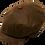 Thumbnail: Kingston-L Leather Newsboy