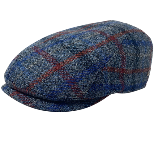 Jackson Lt. Blue Harris Tweed
