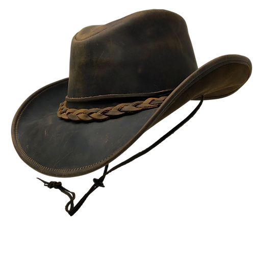 Denali Leather Cowboy Hat