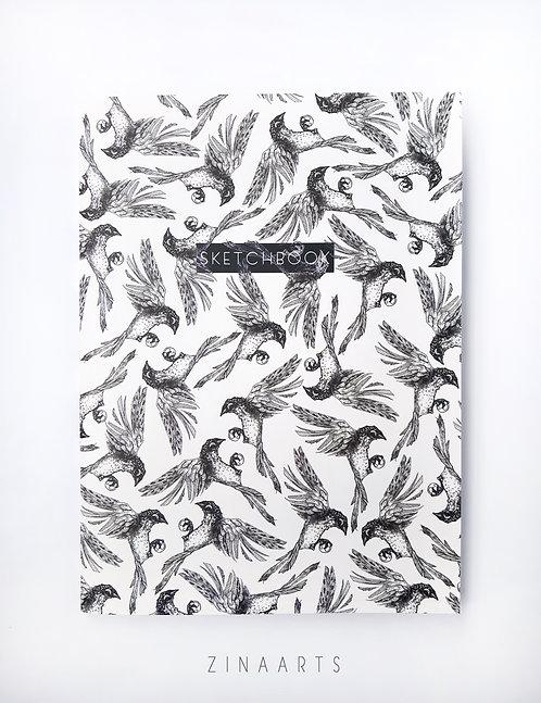 """SKETCHBOOK """"BIRDS"""""""