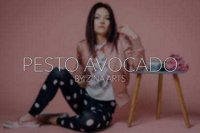 Pesto & Avocado by Zinaarts