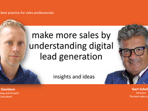 VIDEO: MAKE MORE SALES FROM DIGITAL LEADS