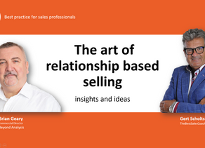 VIDEO: discover The art of relationship selling