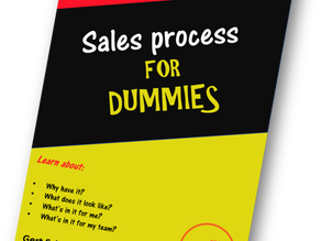 Sales process for dummies