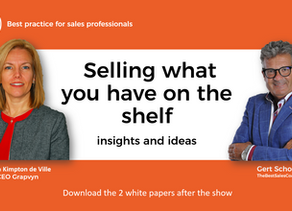 VIDEO: Sales people should sell the products they have on the shelf
