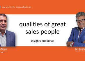 VIDEO: Do you have these sales qualities for success?