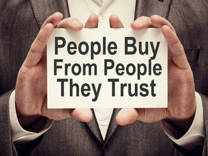 Trust As Sales strategy .