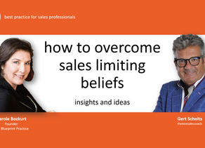 video: close more deals by overcoming sales limiting beliefs
