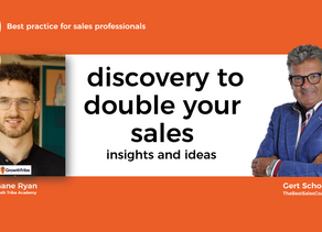 Discovery to double your sales