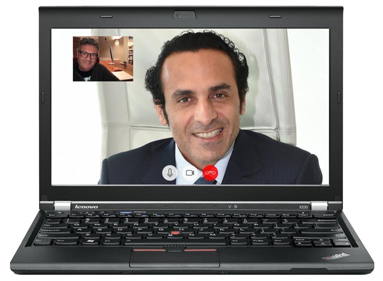 skype sales call