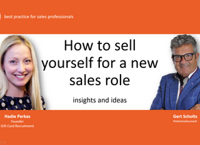 video: how to bag a new sales role