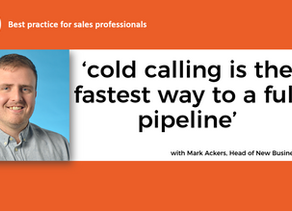 VIDEO. Cold calling tips from master cold caller Mark Ackers