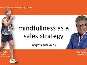 video: make more sales through mindfulness