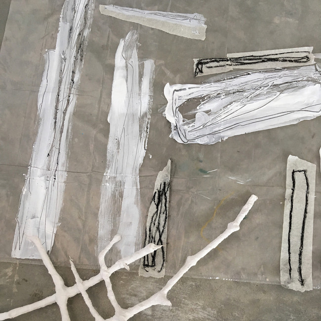 Found Material - Residency Tests
