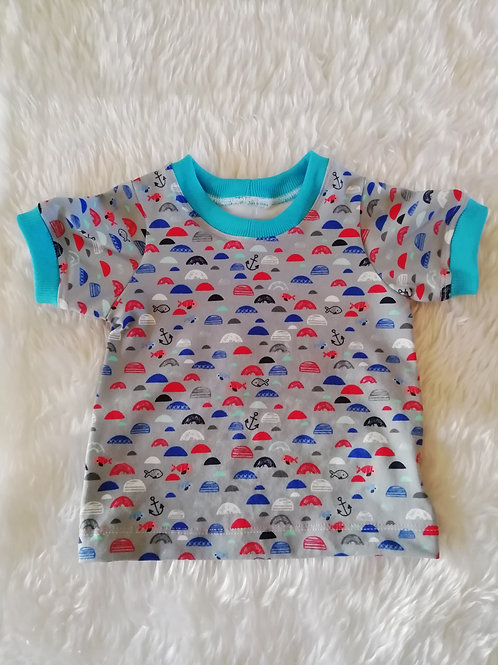 6 to 9 month in the sea t shirt