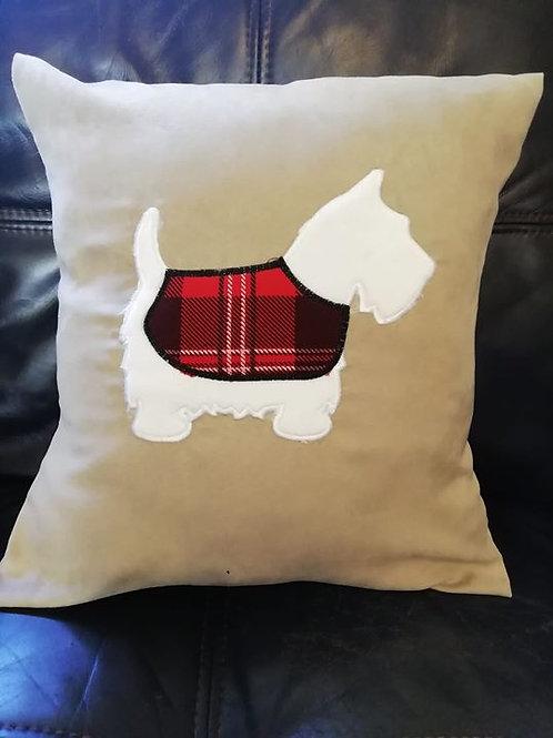 Scotty Dog Cushion