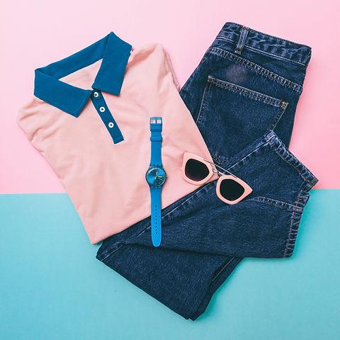 Pastellfarben-Kleidung