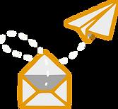 email e avião
