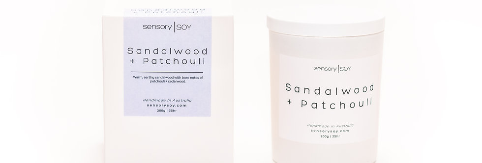 Sandalwood + Patchouli