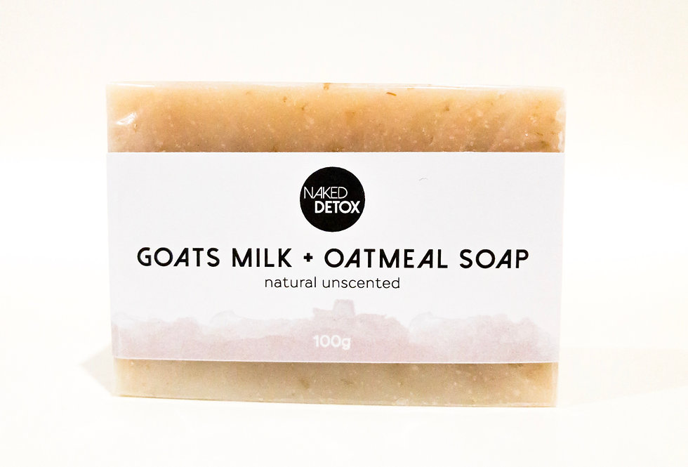 Goats Milk + Oatmeal Soap Bar