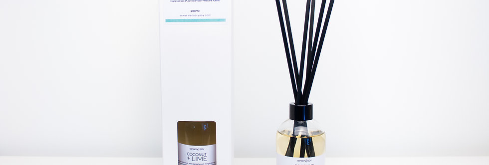 Coconut + Lime Reed Diffuser