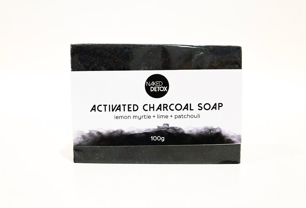 Activated Charcoal Soap Bar